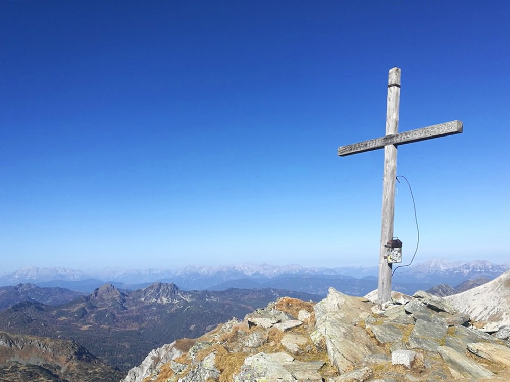 Gipfelkreuz Lungauer Kalkspitze