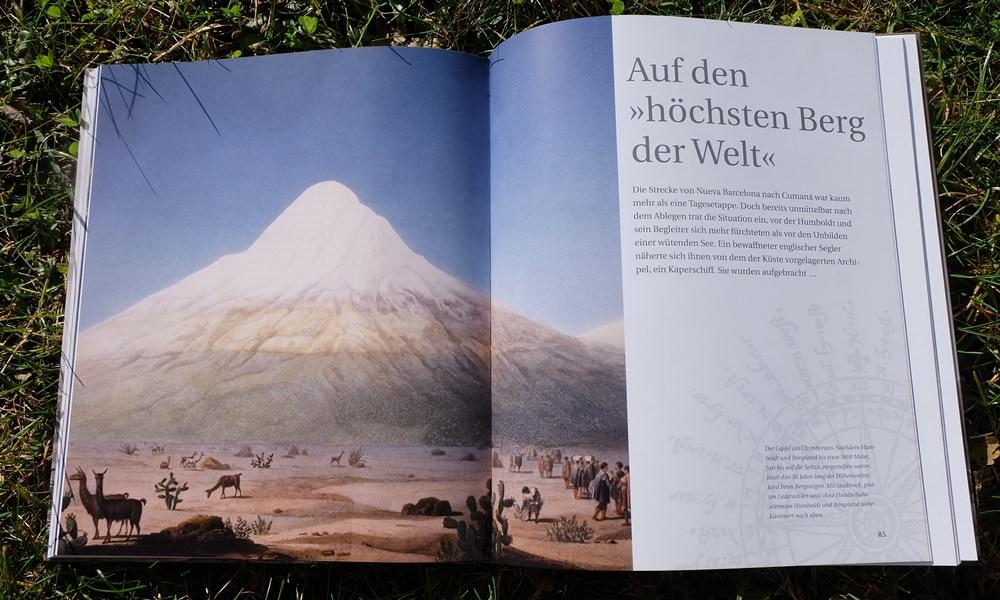 Alexander von Humboldt und der Chimborazo