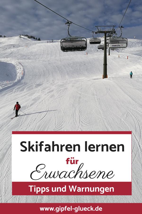 Skifahren lernen für Erwachsene