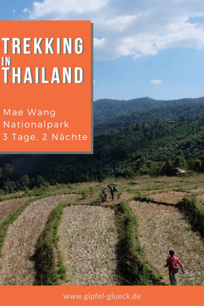Mae Wang Nationalpark - wandern in Thailand