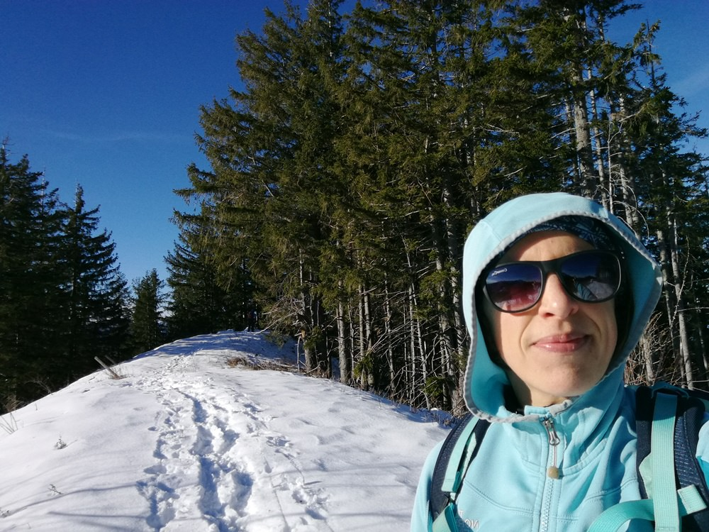 Gipfelglück am Scheichenberg bei Ruhpolding