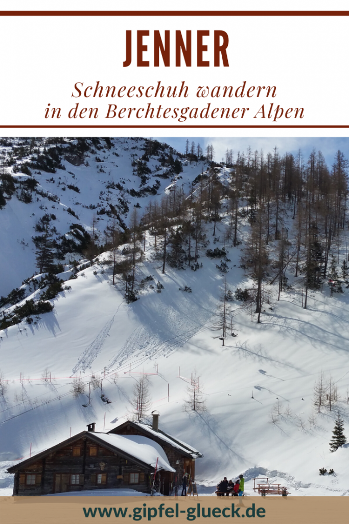 Schneeschuhwanderung zum Jenner über dem Königssee / Berchtesgaden/ Bayern