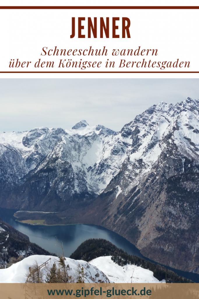 Jenner im Winter - mit Schneeschuhen unterwegs im Berchtesgadener Land, Bayern