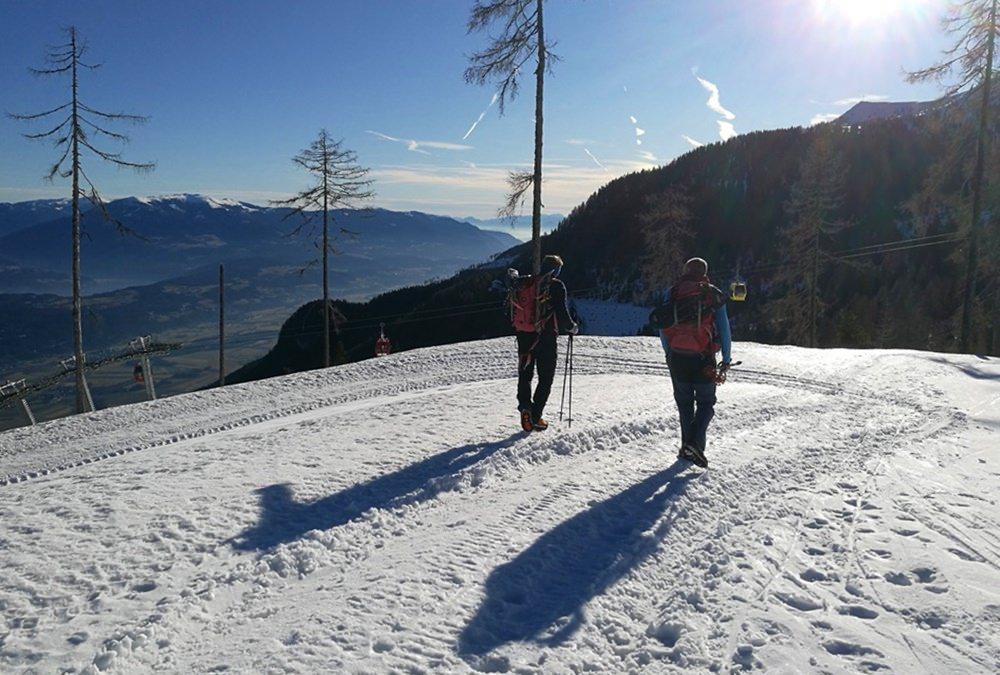 Gemütlicher Start am Goldeck Skigebiet