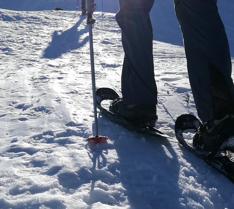 Schneeschuh-Terrain