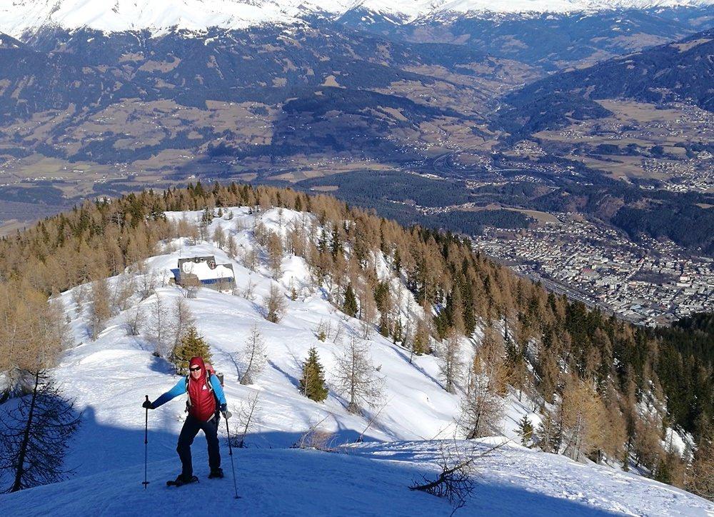 Steile Schneeschuhtour Goldeck - hoch über dem Millstätter See