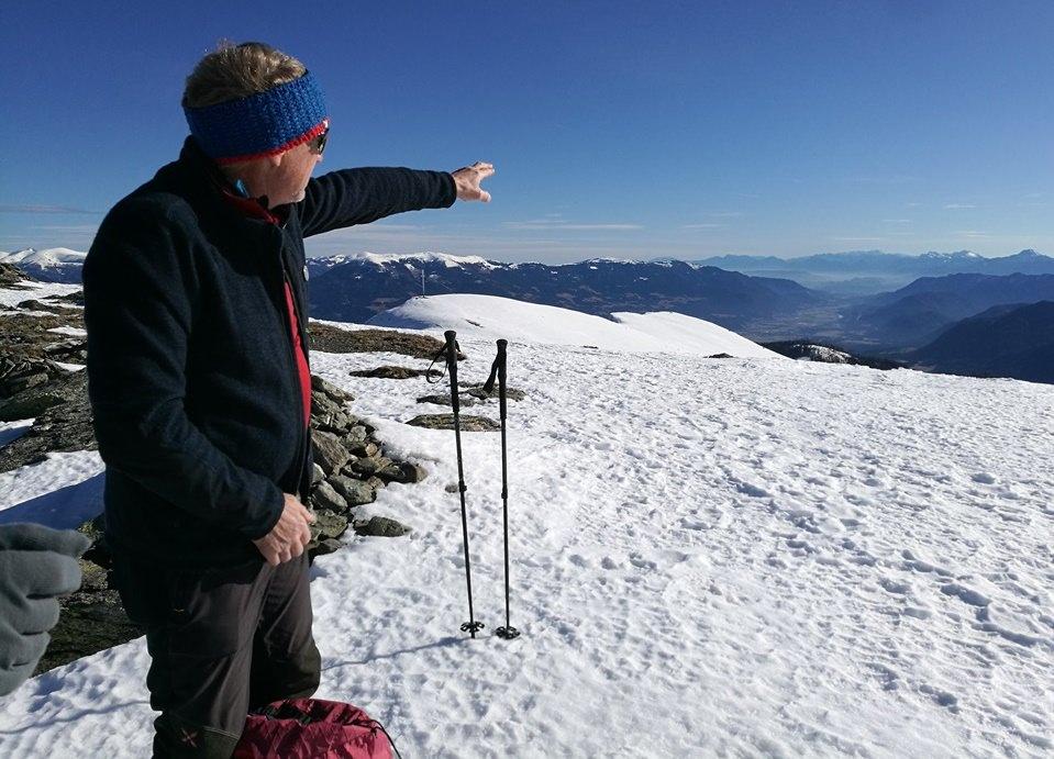 Bergführer in seinem Element