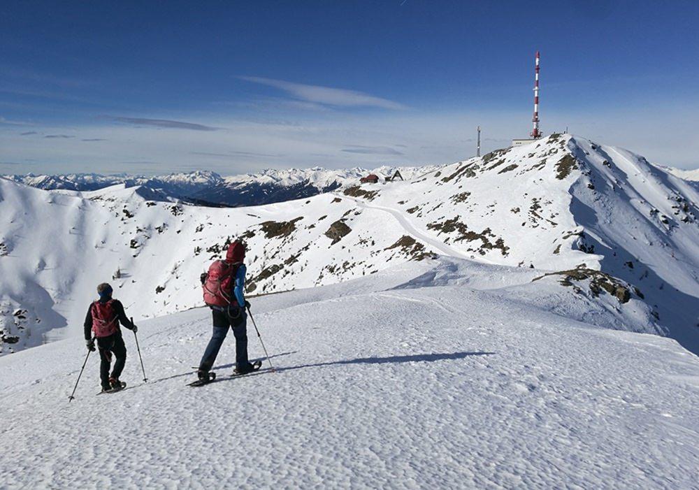 Vom Sattel zum Gipfel