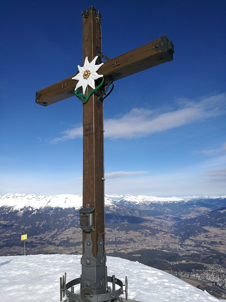 Gipfelkreuz am Goldeck