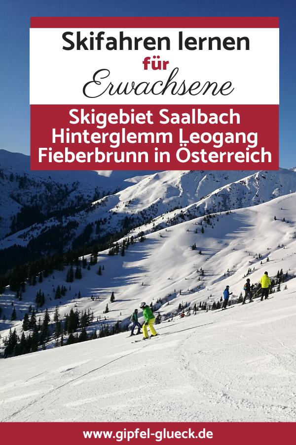 Skifahren lernen in Saalbach / Österreich