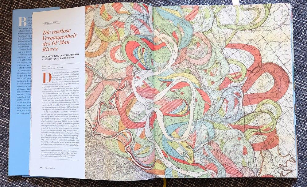 Fluss Landkarte aus Kartenwelten