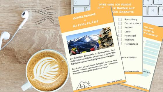 Gipfel-Träumerei und Gipfel-Pläne (mit Gratis-Listen zum Download!)