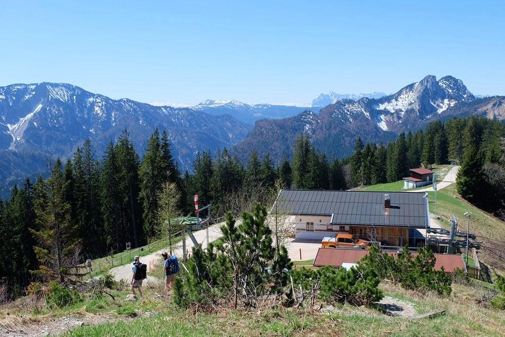 Blick zur Unternberg Alm