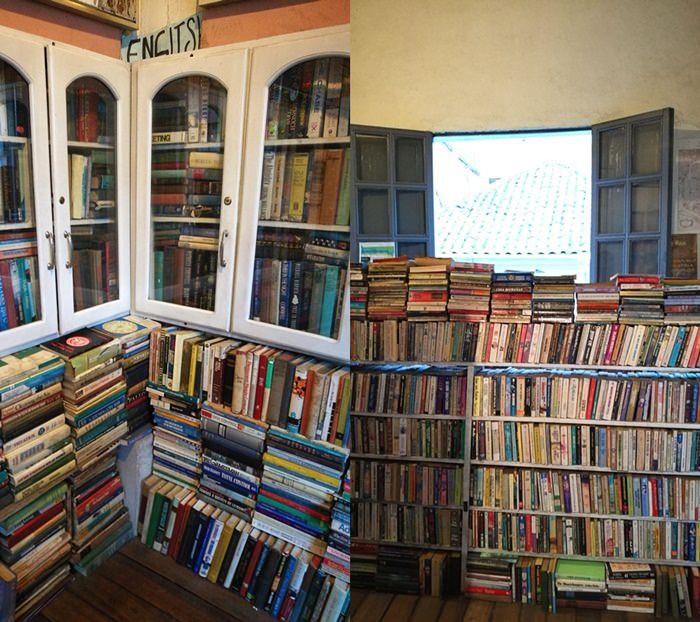 Buchhandlung in Cuenca, Ecuador