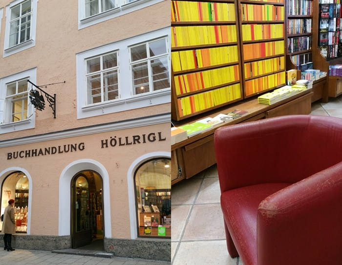 Buchhandlung in Salzburg