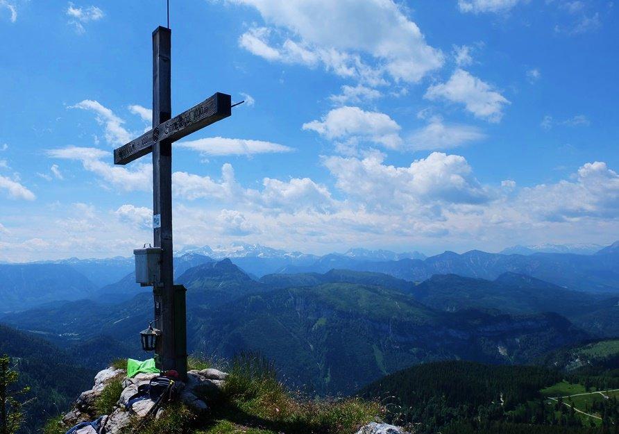 Gipfelkreuz Gamskogel
