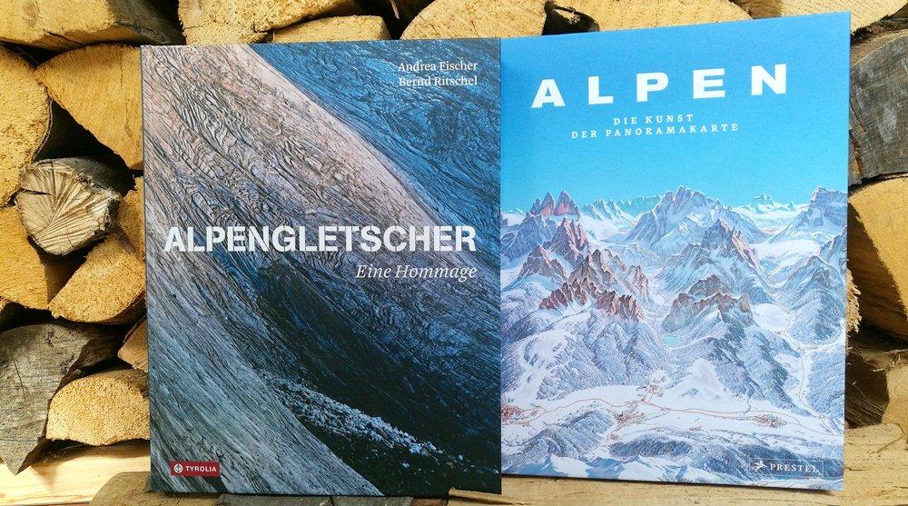 Bücherglück (9) – Bildbände über die Alpen