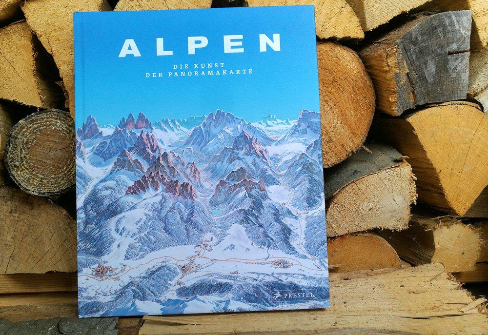 Alpen - Die Kunst der Panoramakarte. Ein Bildband.