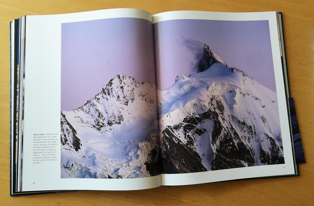 Gewaltig - der Mominggletscher in den Walliser Alpen