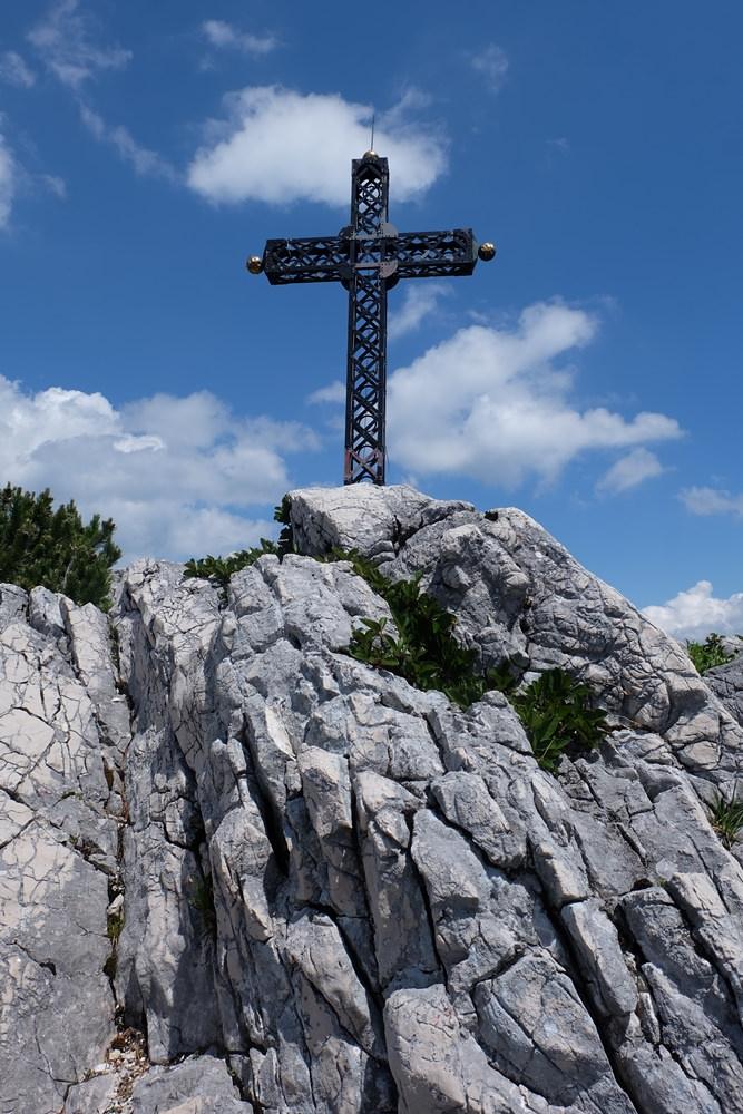 Gipfelkreuz Katrin
