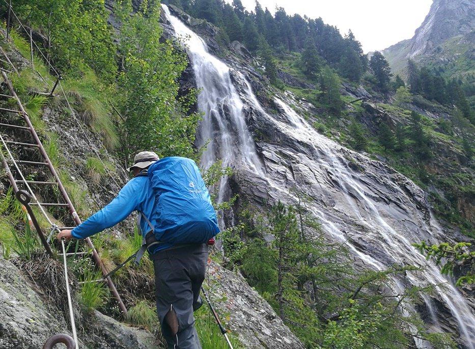 Wasserfall-Klettersteig in der Reisseck-Gruppe/ Kärnten