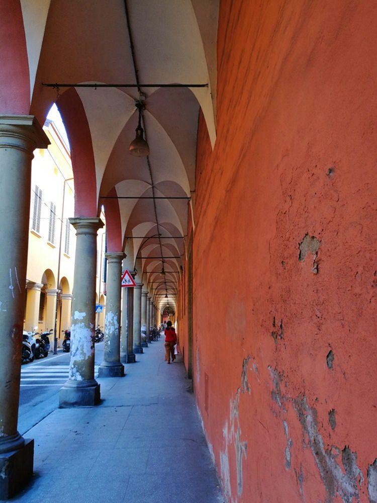 Bogengänge in Bologna