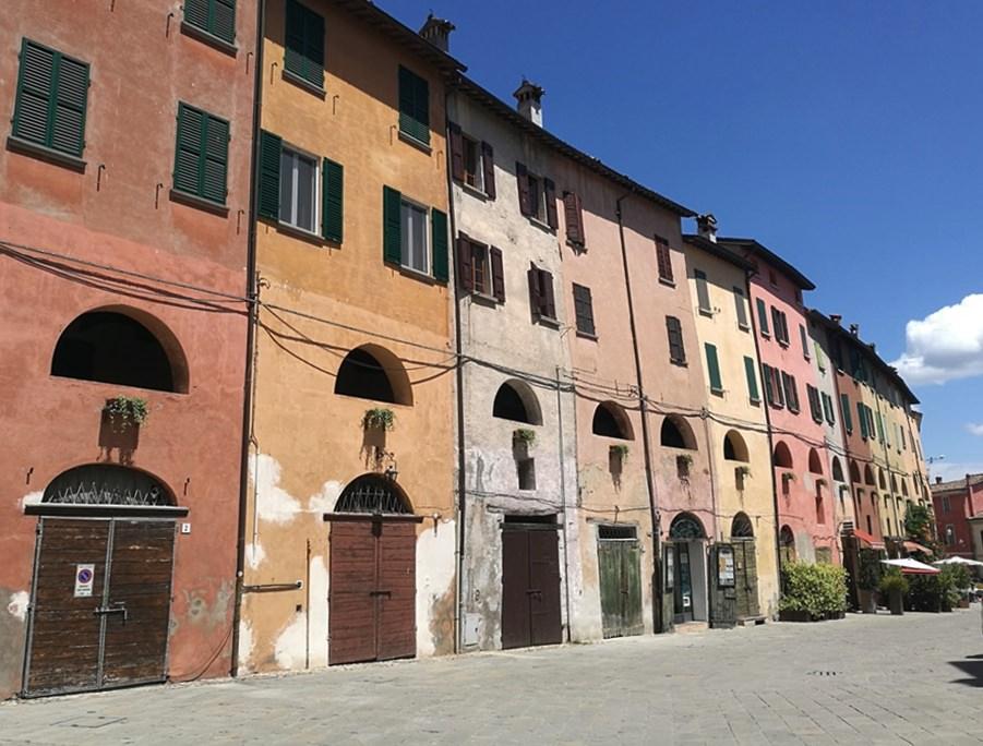 Häuser in Brisighella