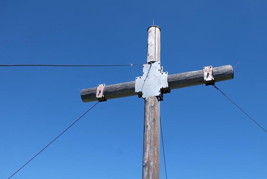 Gipfelkreuz der Tagweide im Tennengebirge