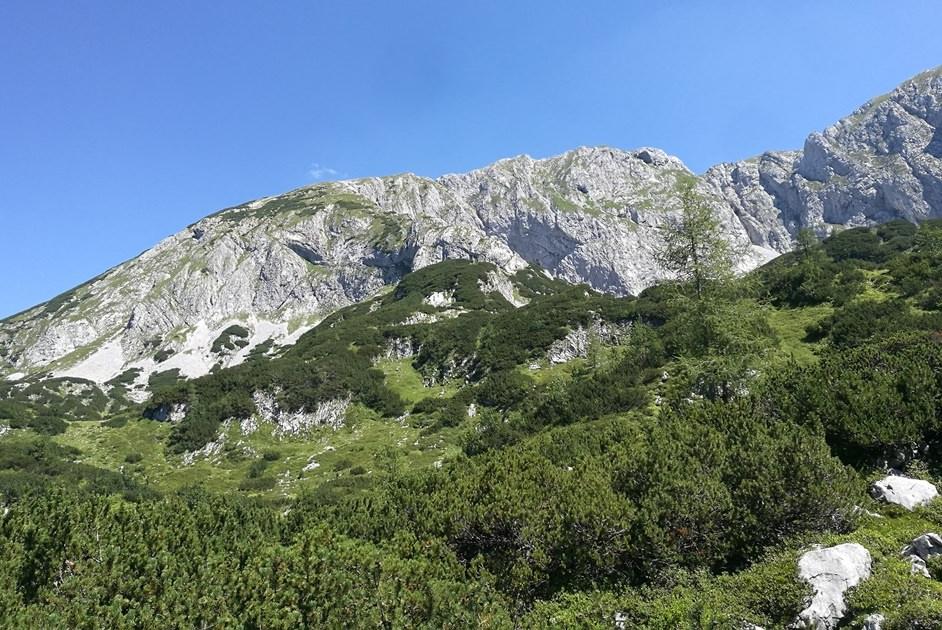 Einsames Wandergebiet im Tennengebirge