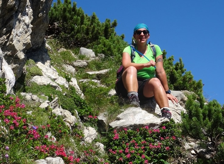 Im Tennengebirge an einem heißen Tag im August