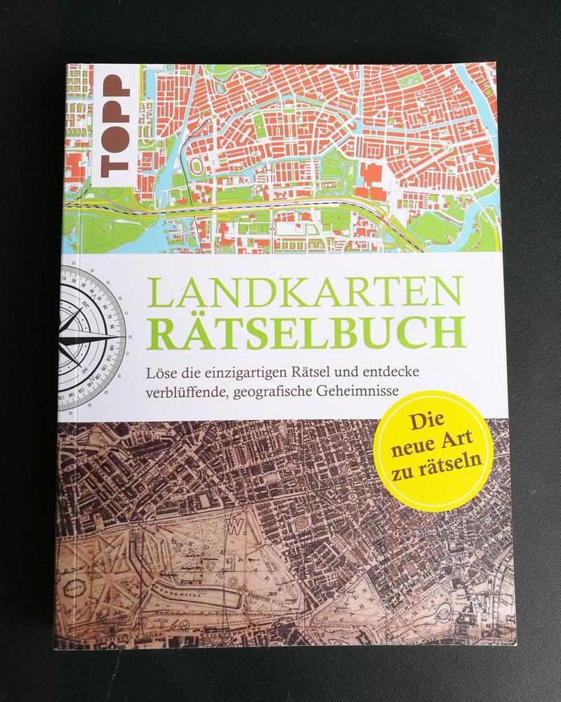Buchtipp für Fernweh daheim: das Landkarten Rätselbuch