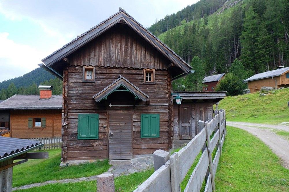 Almdorf im Riekental in Kärnten/ Österreich