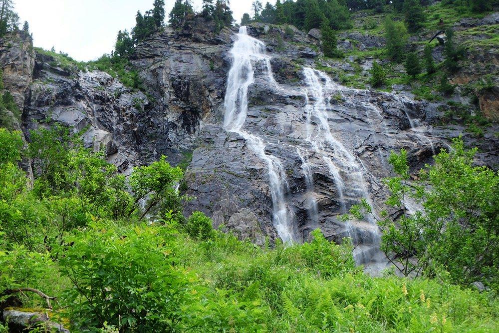 Rieken Wasserfall in der Reißeckgruppe in Kärnten/ Österreich