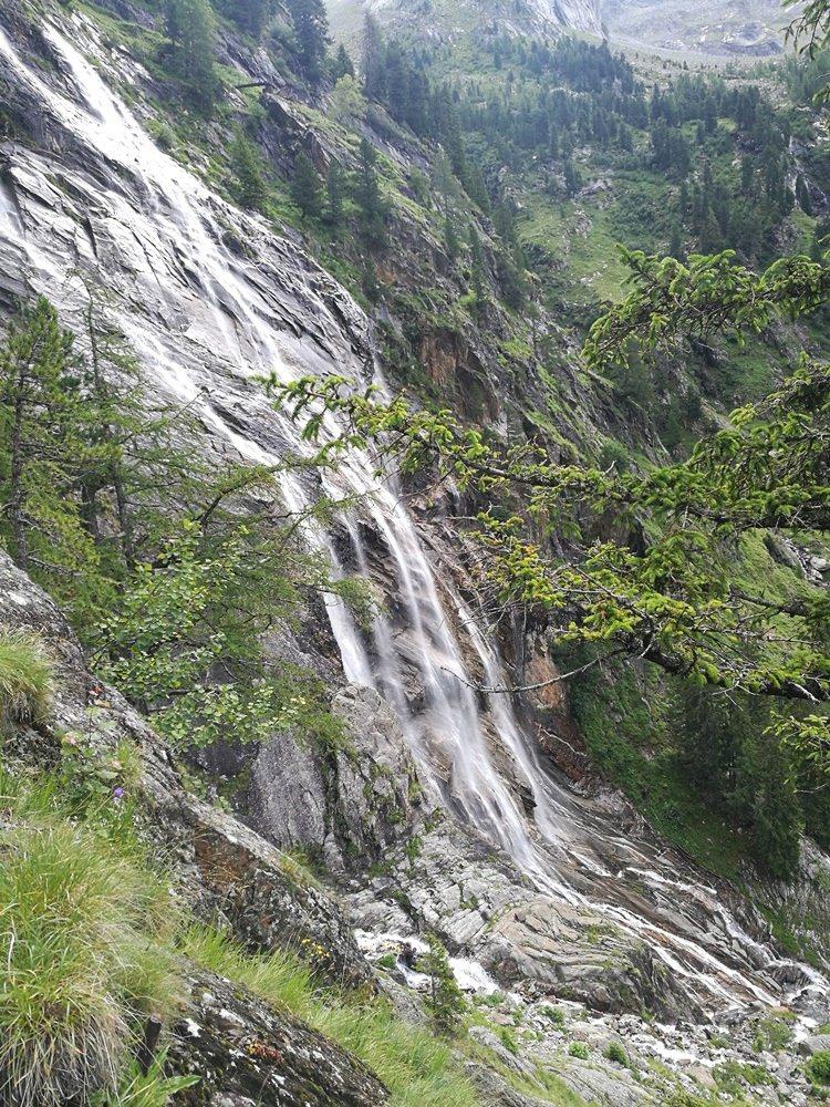 Rieken Wasserfall in Kärnten