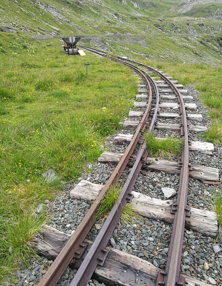 Bahnschienen Reißeckgruppe
