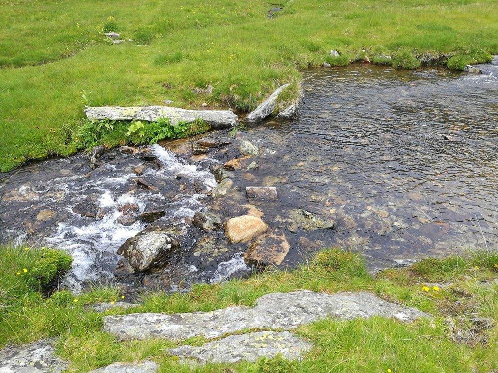 Bachquerung am Unteren Moosboden