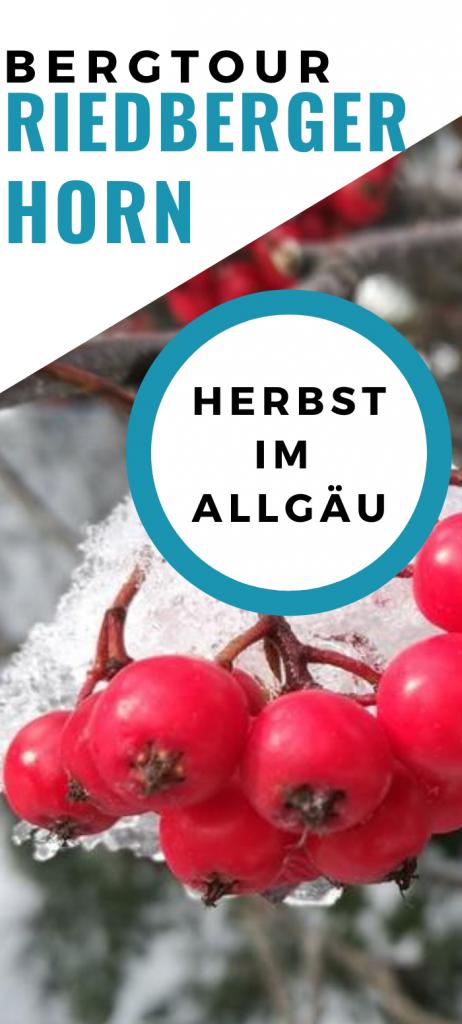 Herbst Urlaub im Allgäu - Wanderung aufs Riedberger Horn bei Balderschwang