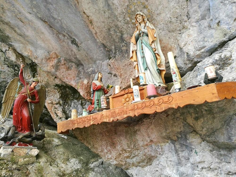 Michaels-Grotte in Ruhpolding