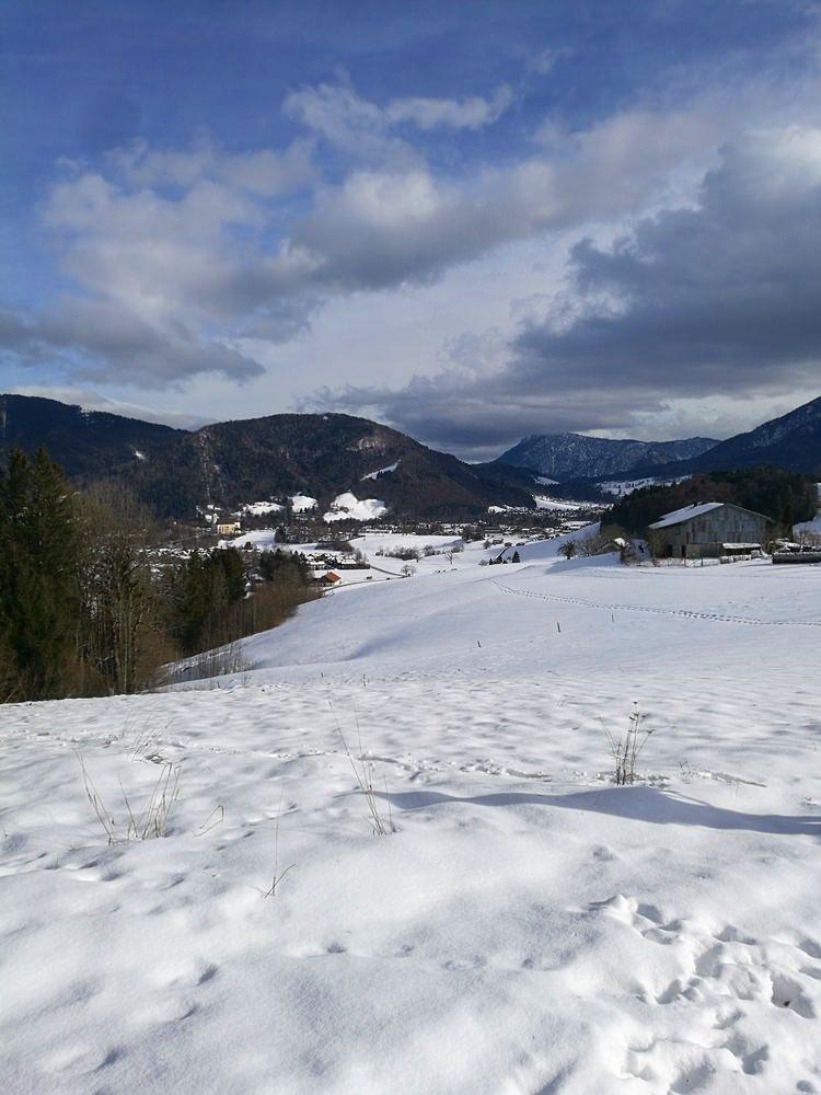 Schneeschuhwandern in Ruhpolding