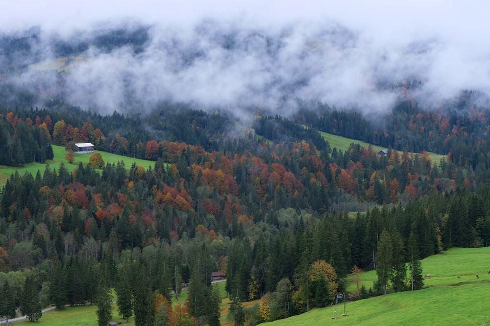 Wandern in Balderschwang im Herbst