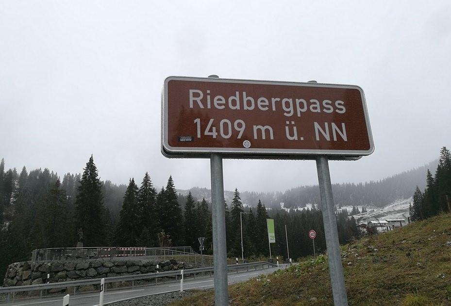 Riedbergpass bei Balderschwang