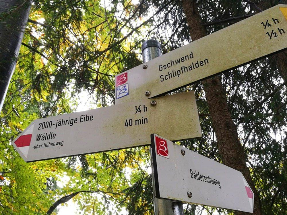 Wanderwege im Allgäu