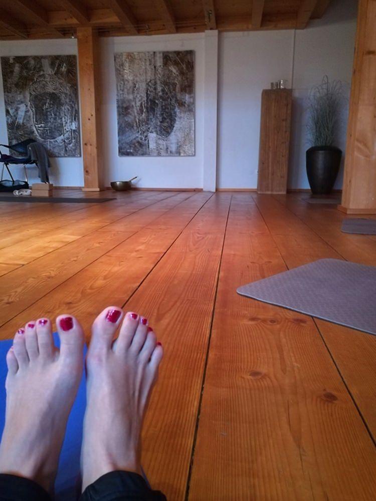 Yogaraum im Hotel Hubertus Balderschwang