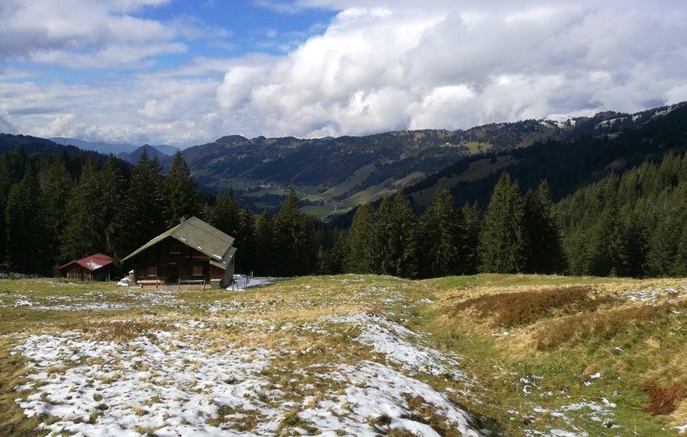 Abstieg vom Riedberger Horn