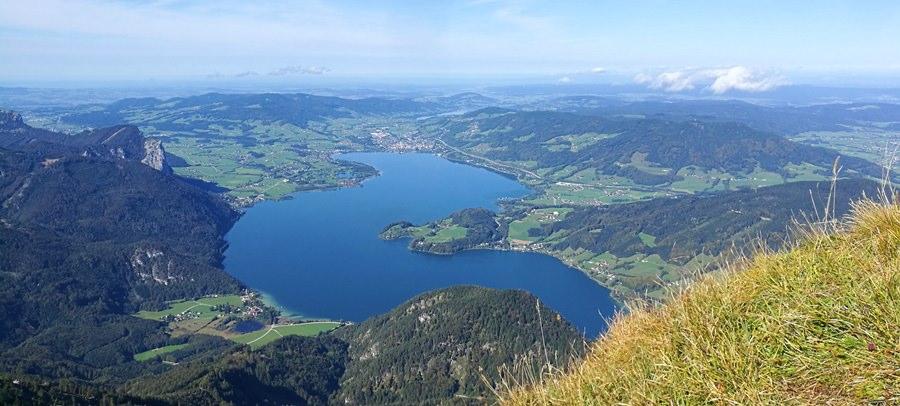 Auf den Schafberg 1.782m im Salzkammergut – allerbeste Aussichts-Bergtour im Herbst