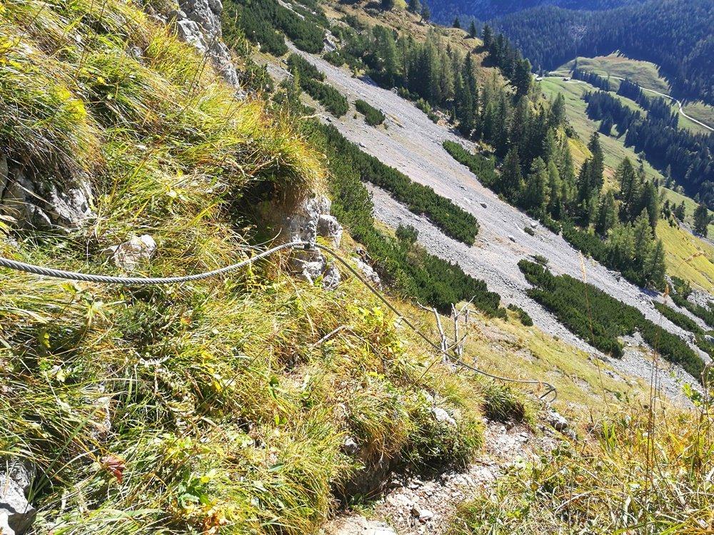 Steile Rinne am Hochkranz