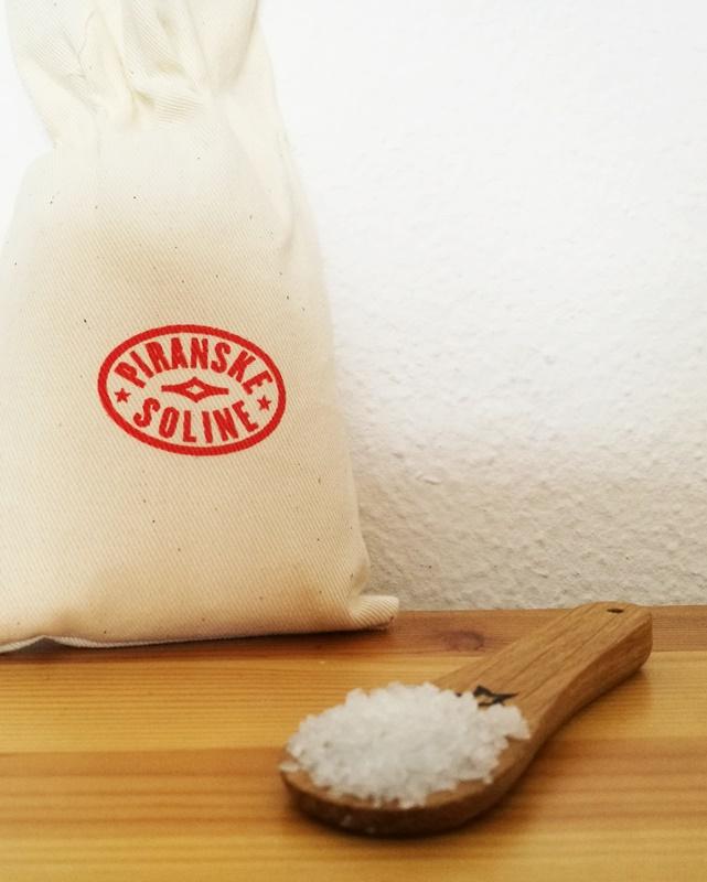 Salz aus der Saline in Portoroz/ Slowenien
