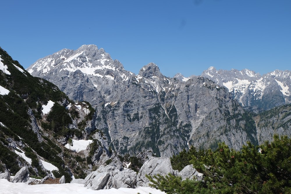In den Julischen Alpen
