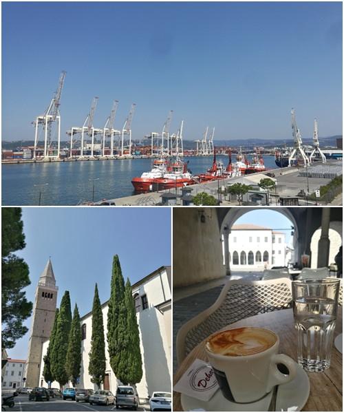 Hafenstadt Koper an der slowenischen Adriaküste