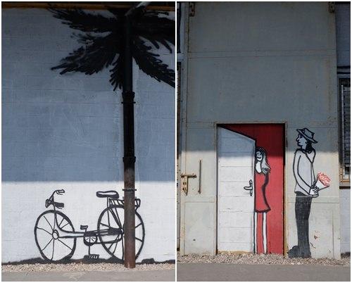 Streetart in Koper, Slowenien